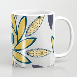 Sunflowers Octagon light gray Coffee Mug