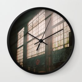 Let The Dust Settle Wall Clock