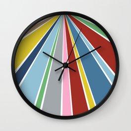 Star Fan 2 Wall Clock