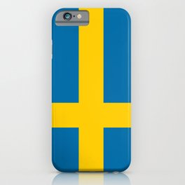 Flag of Sweden - Swedish Flag iPhone Case