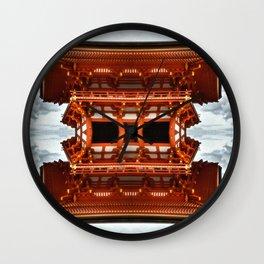 Temple Wall Clock