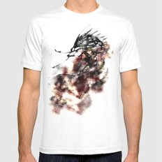 cool sketch 167 Mens Fitted Tee White MEDIUM
