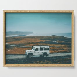 Defender on the Road Serving Tray