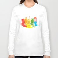 dreams Long Sleeve T-shirts featuring Summer of Melted Dreams by Rachel Caldwell