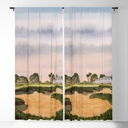 Los Angeles Country Club North Course 9th Hole Blackout Curtain