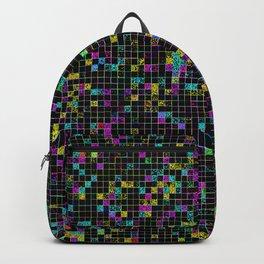 Glitch Grid Backpack