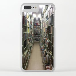 A Book Lovers Heaven Clear iPhone Case