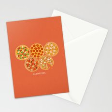 Olympizza Stationery Cards
