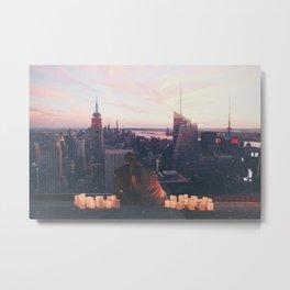 New York City Romance Metal Print