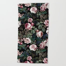 NIGHT FOREST XX Beach Towel