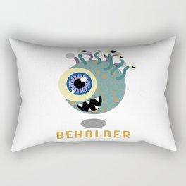 Beholder! Rectangular Pillow