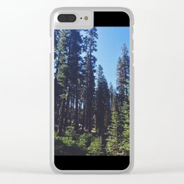 Giants dreaming Clear iPhone Case