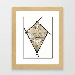 Tethered Framed Art Print