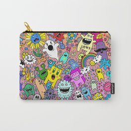 Doodles Pink Carry-All Pouch