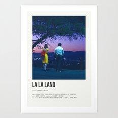La La Land- Night Art Print