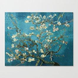 Blossoming Almond Trees, Vincent van Gogh. Famous vintage fine art. Canvas Print