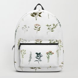 Delicate Floral Pieces Backpack