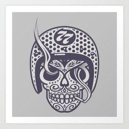 Skull 77 Art Print