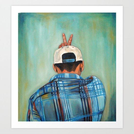 Kirbo Art Print