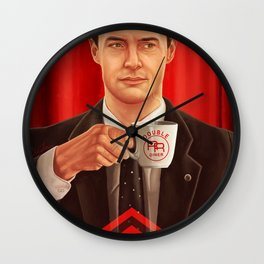 Dale Cooper Wall Clock