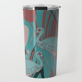 Ibis Sacred Birds Travel Mug