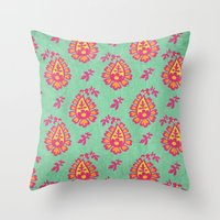 pastel Throw Pillows featuring Pastel by Arcturus