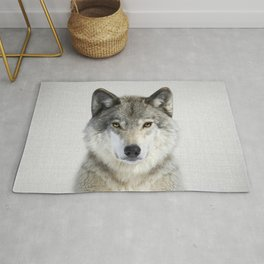 Wolf 2 - Colorful Rug