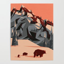 The first rays of light Poster