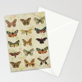 Moths & Butterflies Stationery Cards