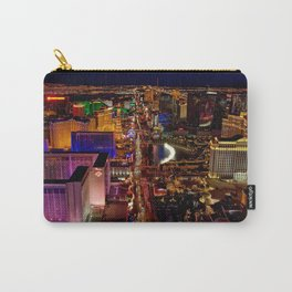 USA Photography - Downtown Las Vegas Carry-All Pouch
