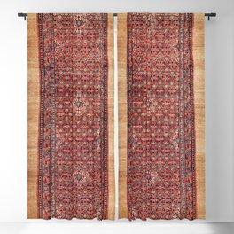 Hamadan West Persian Long Rug Print Blackout Curtain