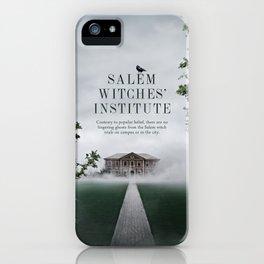 Wizarding Schools Around the World: Salem iPhone Case