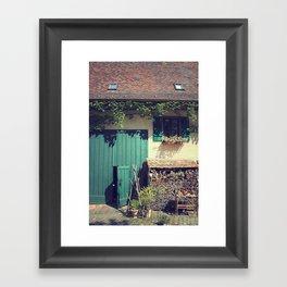 Simple Village Framed Art Print