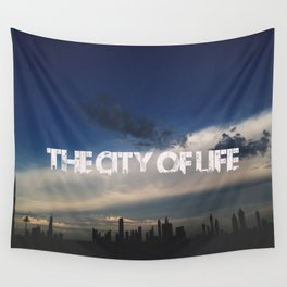 The city of life // #DubaiSeries Wall Tapestry
