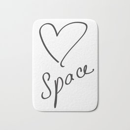 Heartspace - A Higher Frequency Love in 5D Bath Mat