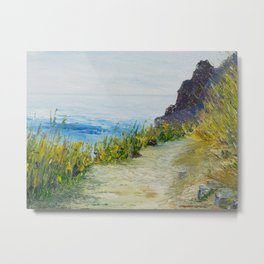 Path to lovers cove Metal Print
