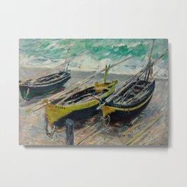 Three Fishing Boats Metal Print