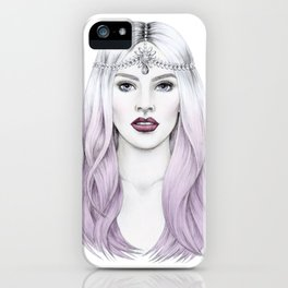 The White Goddess iPhone Case