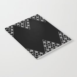Spikes (Black) Notebook