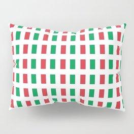 flag of Italia- Italy,Italia,Italian,Latine,Roma,venezia,venice,mediterreanean,Genoa,firenze Pillow Sham