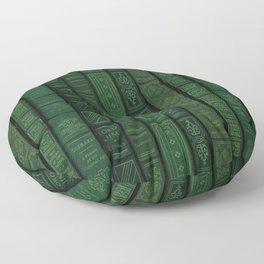 "Extravagant Design Series: Vertical Book Pattern ""Bookbag"" Floor Pillow"