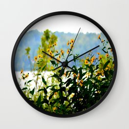 Naturally Clear Wall Clock
