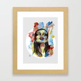 """""""Mirabelle"""" by carographic Framed Art Print"""