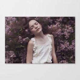 Emily in Reverie II Canvas Print