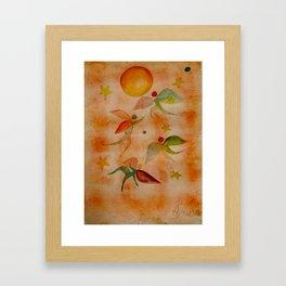Angels don't fear the sun Framed Art Print