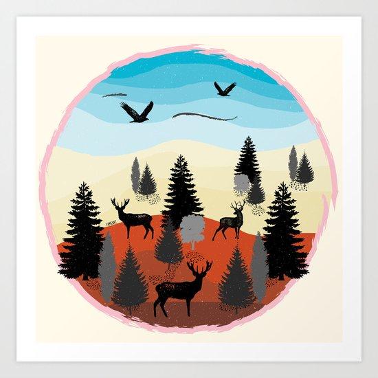 Landscape Art Print