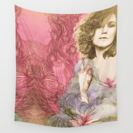 Maria Rita - Study for a portrait Wall Tapestry