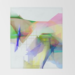 Abstract 9500 Throw Blanket