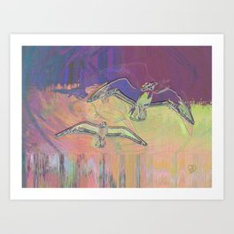 Flight 2 Art Print