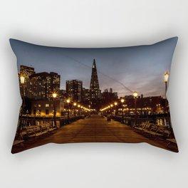 Transamerica Pyramid Pier Rectangular Pillow